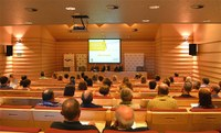 Conference at the Parc Científic on Social Security in the agriculture sector
